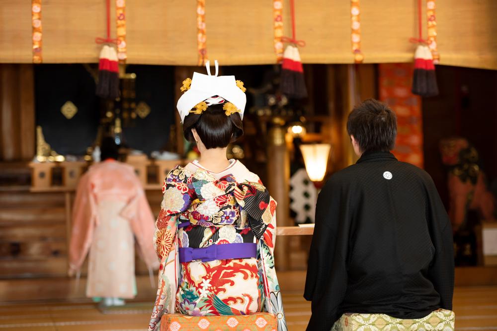 戸隠神社挙式