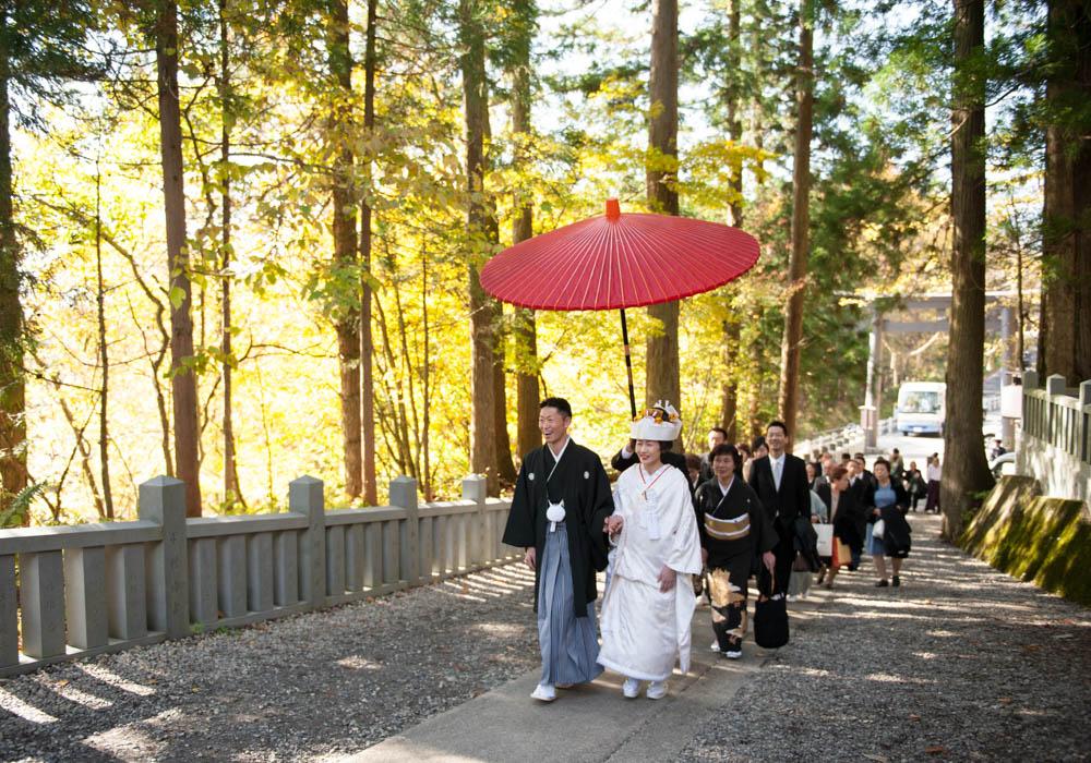 戸隠神社結婚式