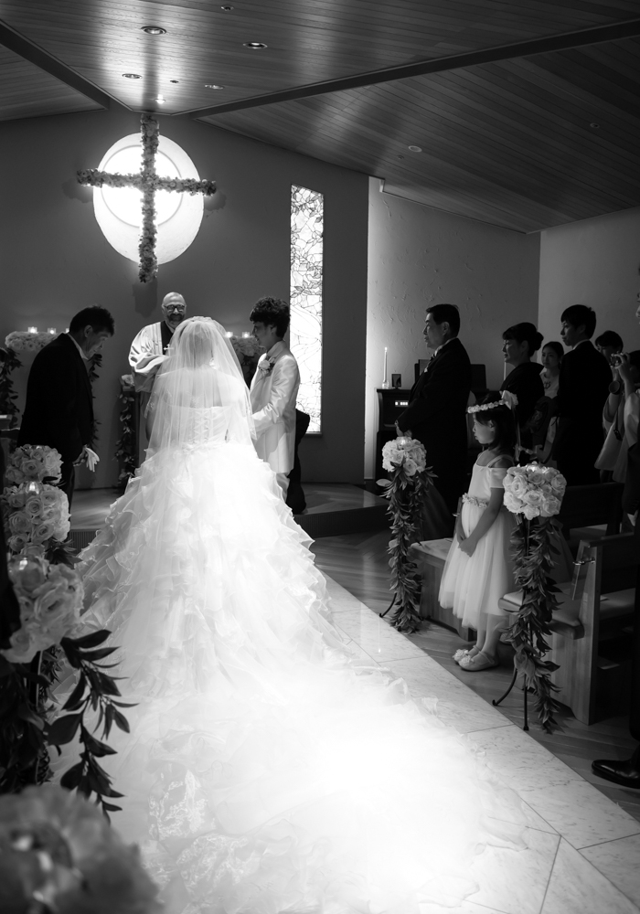 犀北館ホテルチャペル結婚式