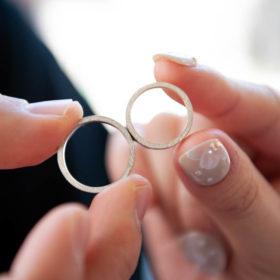 指輪の分かち合いセレモニー