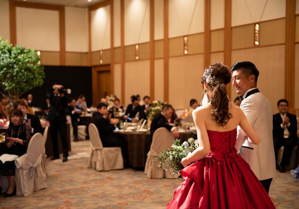 犀北館ホテル結婚式写真