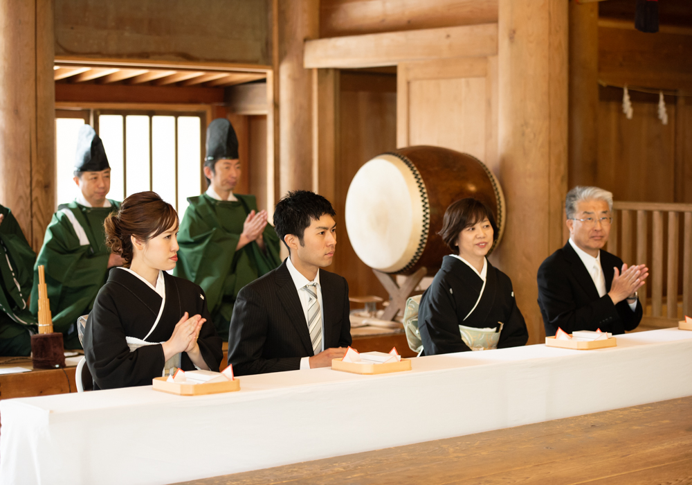 戸隠神社結婚式写真